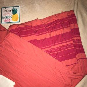 Kenar Dresses - KENAR Coral Maxi Dress